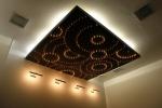 парящий потолок из гисокартона