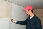 процесс подготовки стен из ГКЛ