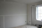 подготовленная комната под обои