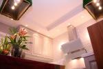 отделка короба на кухне