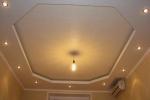 монтаж освещения в комнате
