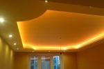 конструкция подсветки потолка