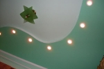 варинат оформления потолка