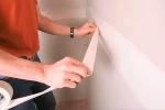 процесс монтажа ленты на шов