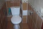 монтаж короба в туалете