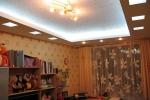 дизайн конструкции на потолоке