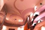 розовые оттенки в интерьере