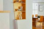дизайн гипсокартонной нишы на кухне