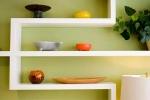 салатовое оформление стенки