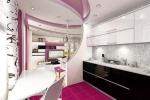 стильное оформленеи кухни