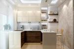 дизайн барной стойки на кухне