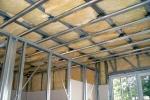 обрешетка на стену и потолок