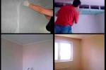 этапы монтажа стеклохолста
