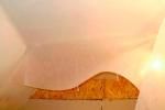 стеклохолст на потолок из гкл