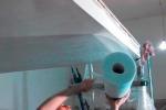 стеклохолст на гипсокартон
