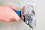 процесс нанесения шпаклевки на гкл