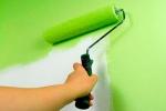 покраска стены из гипсокартона