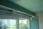 монтаж короба на балконе