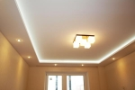 люстар на потолке из гипсокартона