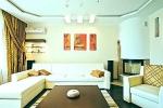стиль оформления стен и потолка