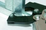 процесс просекания металлического профиля