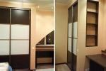 дизайн шкафа из гкл в комнате