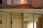 подсветка в шкафу из гкл