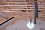 подвесной каркас из брусъев