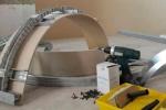 подготовка арки