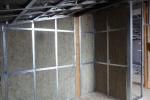 процесс шумоизоляции гаража