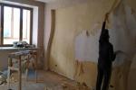 демонтаж стенки из гкл