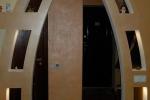 финишная отделка межкомнатной стенки