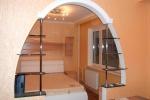 конструкция арки на кухню