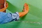 прижимание листов материала