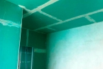 отделка стен влагостойким гкл