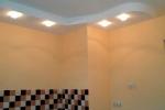 монтаж освещения на стене