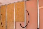 закладка проводки в стены