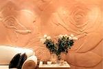 оригинальная отделка стен из гипсокартона