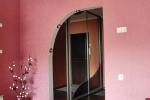 покраска стен розовой краской