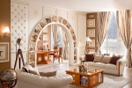 арка с полками из гкл
