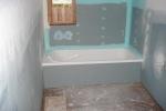 пример влагостойкого гкл в ванной
