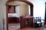 деревянная отделка арки