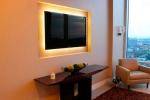 дизайн стены в гостиной