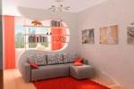 оформление комнаты в оранжевых тонах