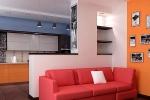 размещение дивана в интерьере