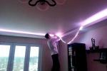 закладывание светодиодной ленты