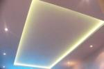 лента на потолке