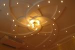 вариант подсветки на потолке