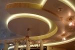 криволинейные конструкции на потолке