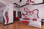 декор стен и потолка из гкл